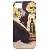 Two Vintage Skeletons iPhone 5 Covers