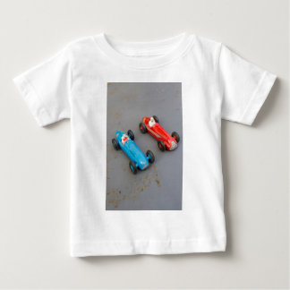 Two vintage toy cars baby T-Shirt