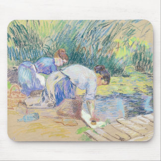 Two Washerwomen (pastel on paper) Mouse Pad