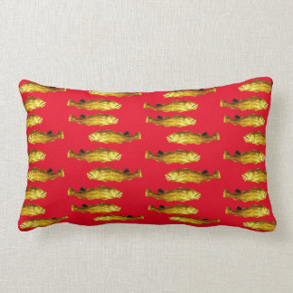 Two Way Cod - A school of gold codfish pillow