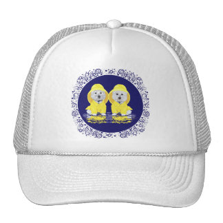 Two Westies April Showers Trucker Hat
