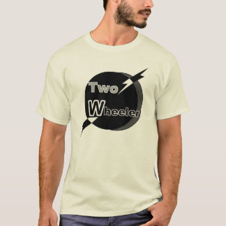 Two Wheeler (Black & Grey) T-Shirt