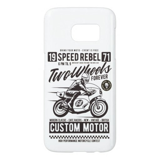 Two Wheels Forever Samsung Galaxy S7 Case