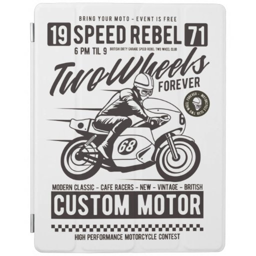 Two Wheels Forever iPad Smart Cover