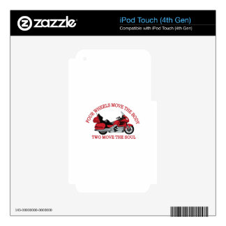 Two Wheels iPod Touch 4G Skin