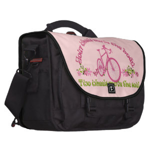 Two wheels move the soul commuter bags