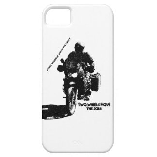 Two Wheels Move the Soul iPhone 5 Case