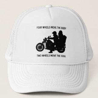 Two Wheels Move The Soul Trucker Hat