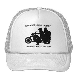 Two Wheels Move The Soul Trucker Hat
