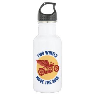 Two Wheels Stainless Steel Water Bottle
