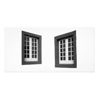 Two Windows Card