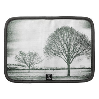 Two Wintery Trees Folio Planners