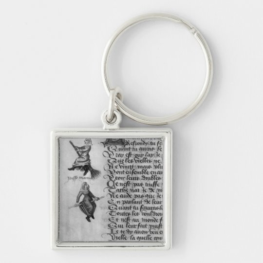 Two witches from 'Le Champion des Dames' Keychain