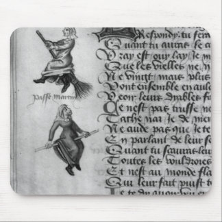 Two witches from 'Le Champion des Dames' Mouse Pad
