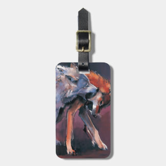 Two Wolves 2001 Bag Tag