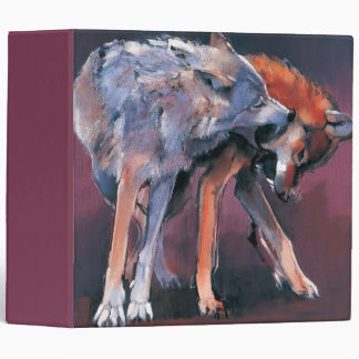 Two Wolves 2001 Binder