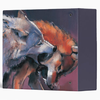Two Wolves Binder