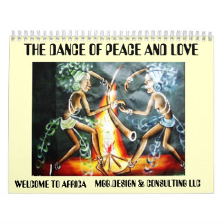 two woman dancer, THE DANCE OF PEACE AND LOVE, ... Calendars
