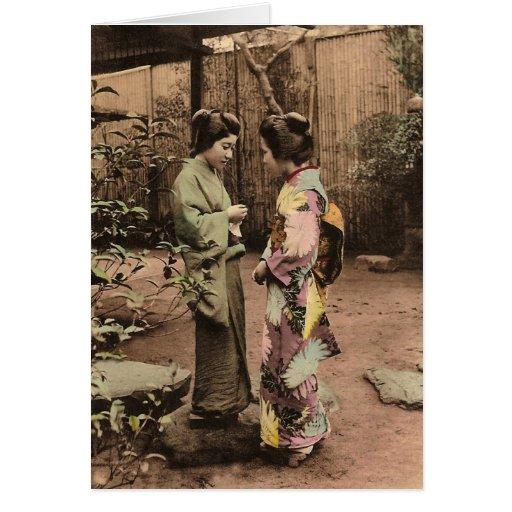 Two Women Card