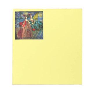 Two Women Classic Art Notepad