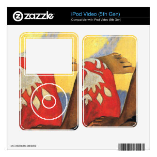 Two Women From Tahiti by Eugène Henri Paul Gauguin iPod Video Decal