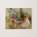 Two Women in a Garden by Kazimir Malevich Jigsaw Puzzles
