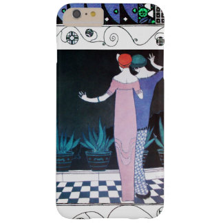TWO WOMEN IN THE NIGHT Art Deco Beauty Fashion Barely There iPhone 6 Plus Case