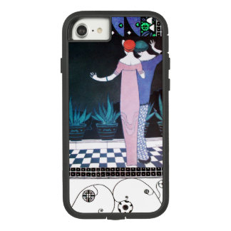 TWO WOMEN IN THE NIGHT Art Deco Beauty Fashion Case-Mate Tough Extreme iPhone 8/7 Case