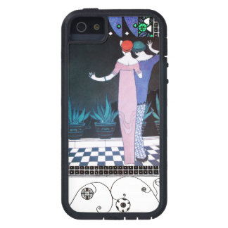 TWO WOMEN IN THE NIGHT Art Deco Beauty Fashion iPhone SE/5/5s Case