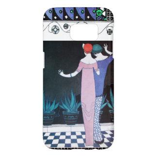 TWO WOMEN IN THE NIGHT Art Deco Beauty Fashion Samsung Galaxy S7 Case