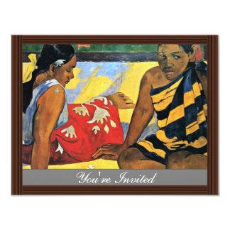 Two Women Of Tahiti (What'S New Parau Api) Card