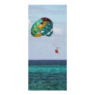 Two Women Parasailing in the Bahamas Custom Rack Card