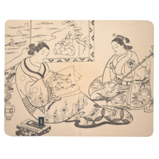 Two Women Seated in a Parlor Okumura Masanobu Journal