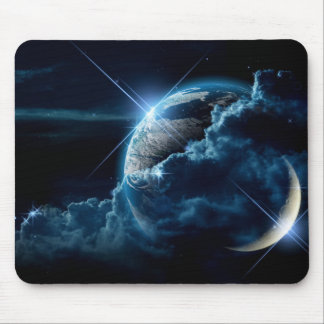 Two World Collide Mousepad Mouse Pad