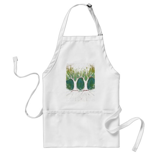 Two Worlds Adult Apron
