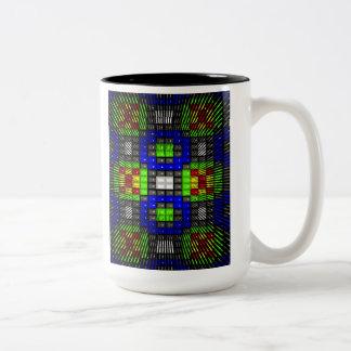 'Two Worlds' Two-Tone Coffee Mug