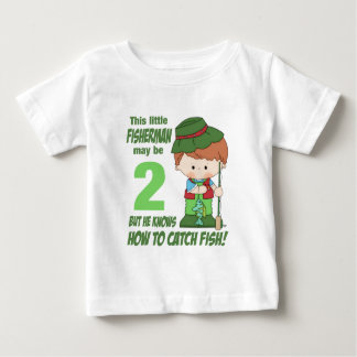 two year old fisherman baby T-Shirt