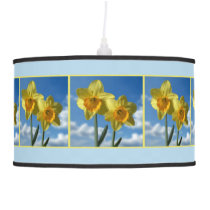 Two yellow Daffodils 2.2.3 Hanging Lamp