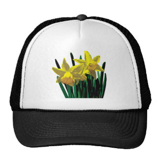 Two Yellow Daffodils Hat