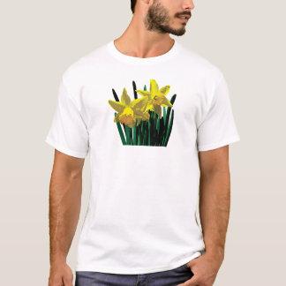 Two Yellow Daffodils Mens T-Shirt