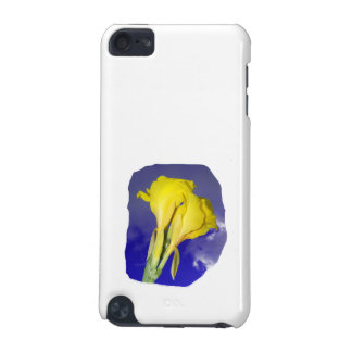 Two Yellow Flowers Dark Blue Sky Photo iPod Touch 5G Cover