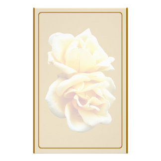 Two Yellow Roses Stationery