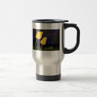 Two Yellow Tuilps Travel Mug