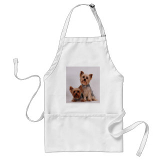 Two Yorkies Adult Apron