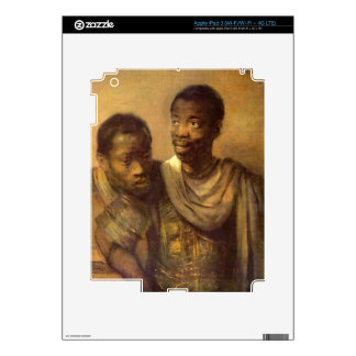 Two young Africans by Rembrandt Decal For iPad 3