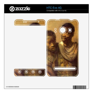 Two young Africans by Rembrandt HTC Evo 4G Decal