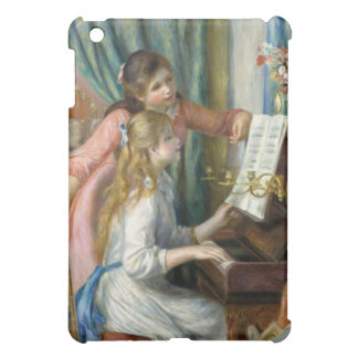 Two Young Girls at the Piano - Pierre-Auguste Reno iPad Mini Cover