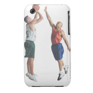 two young men dressed in opposing team iPhone 3 cover