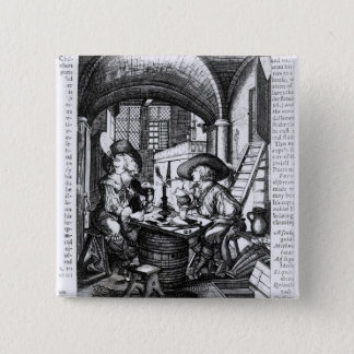Two Young Noblemen Smoking, A Pro-Smoking Button