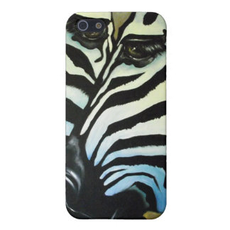 Two Zebras iPhone SE/5/5s Case